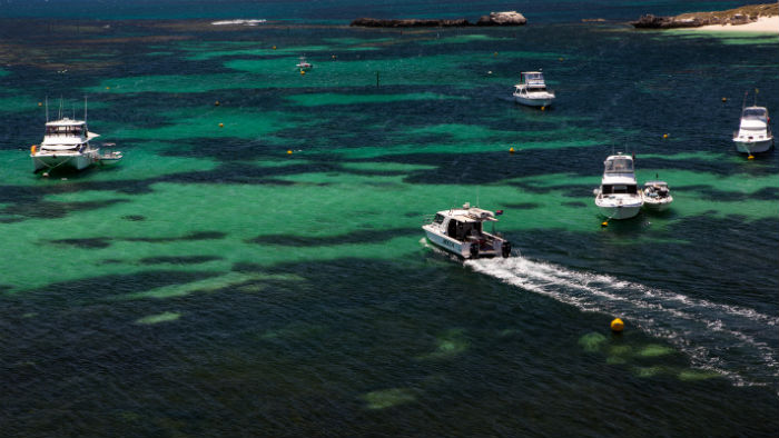 Closer to Rottnest Island