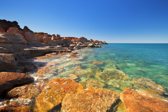 Broome coastline