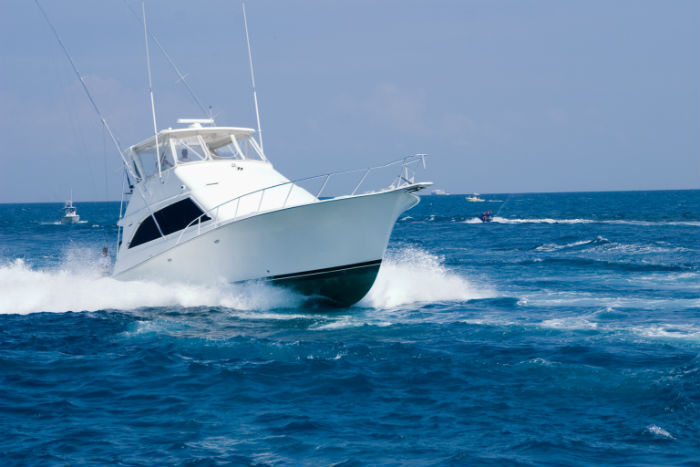 On of our boats