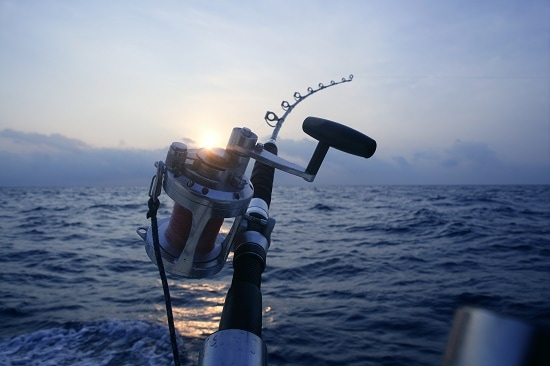 Fishing off the coast of Western Australia