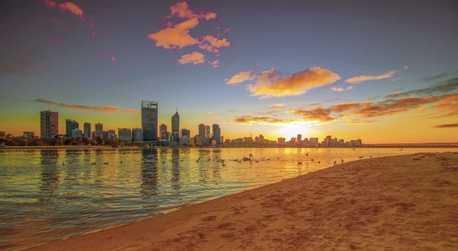 Perth Swan River Cruise at Sunset